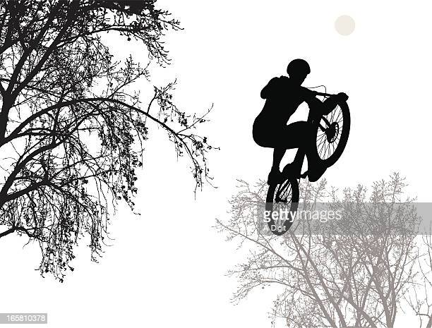 ilustraciones, imágenes clip art, dibujos animados e iconos de stock de bicyclemotorcross - mountain bike