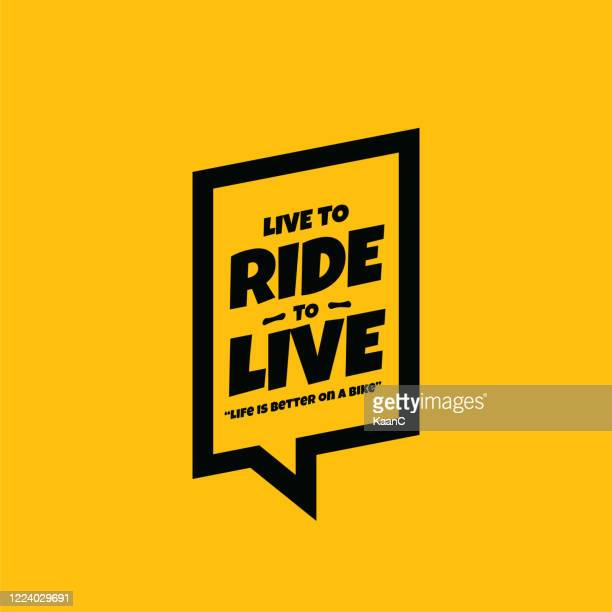bicycle or bike lettering on background stock illustration - road marking stock illustrations