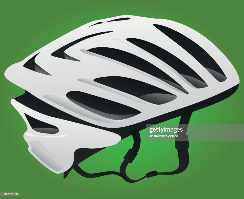 Bicycle or Cycling Helmet - Illustration : stock illustration