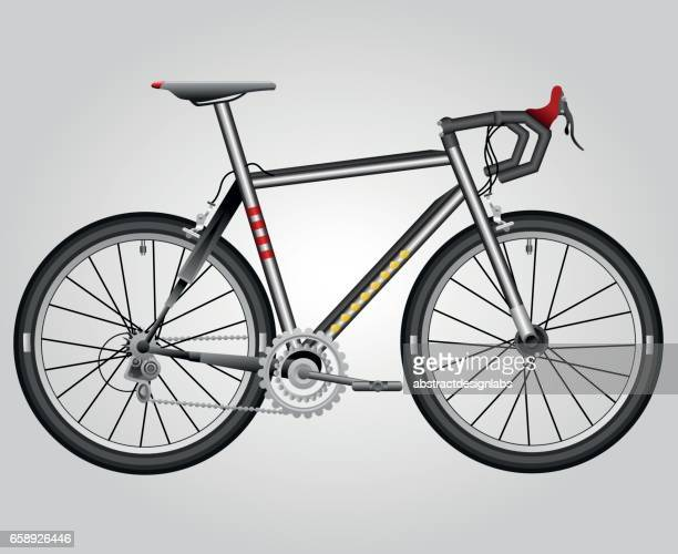 Bicycle or Sports Bike - Illustration