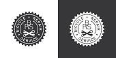 Bicycle repair service logo