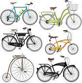 Bicycle set.