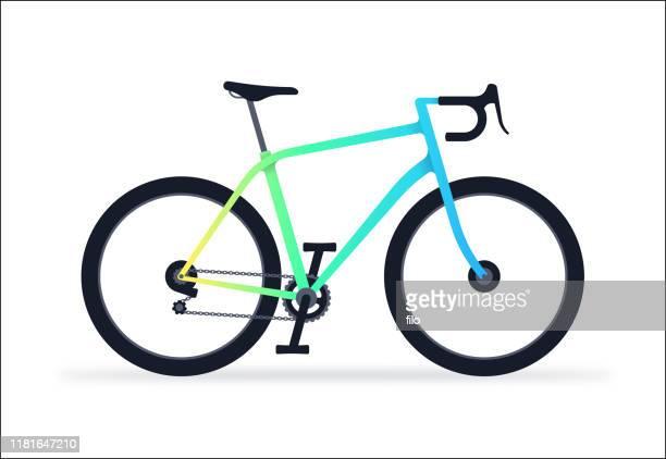 bicycle - racing bicycle stock illustrations