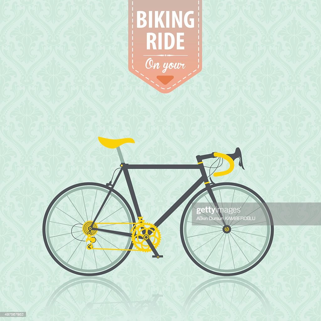 Fahrrad : Stock-Illustration
