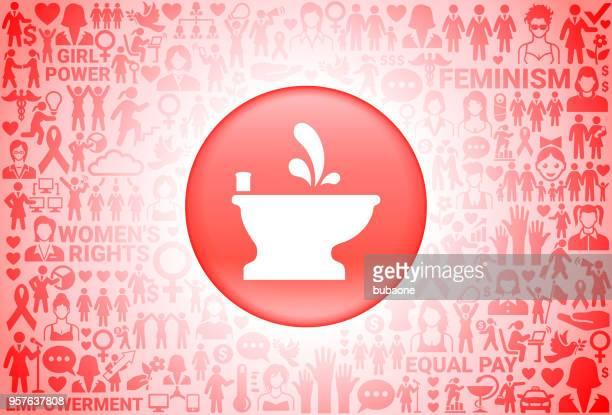ビデ女の子パワーの女性の権利の背景 - ビデ点のイラスト素材/クリップアート素材/マンガ素材/アイコン素材