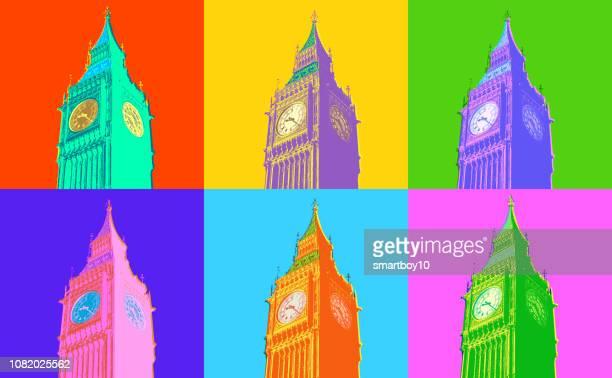 ビッグベンとウェストミン スター宮殿 - international landmark点のイラスト素材/クリップアート素材/マンガ素材/アイコン素材