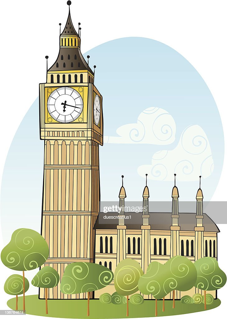 Big Ben London High-Res Vector Graphic - Getty Images
