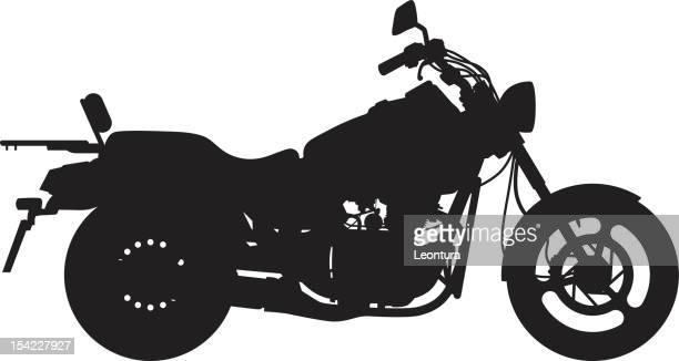 big bike - motorcyclist stock illustrations, clip art, cartoons, & icons