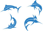 Big blue marlins
