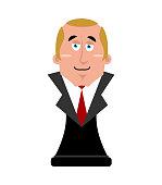 Big boss figurine