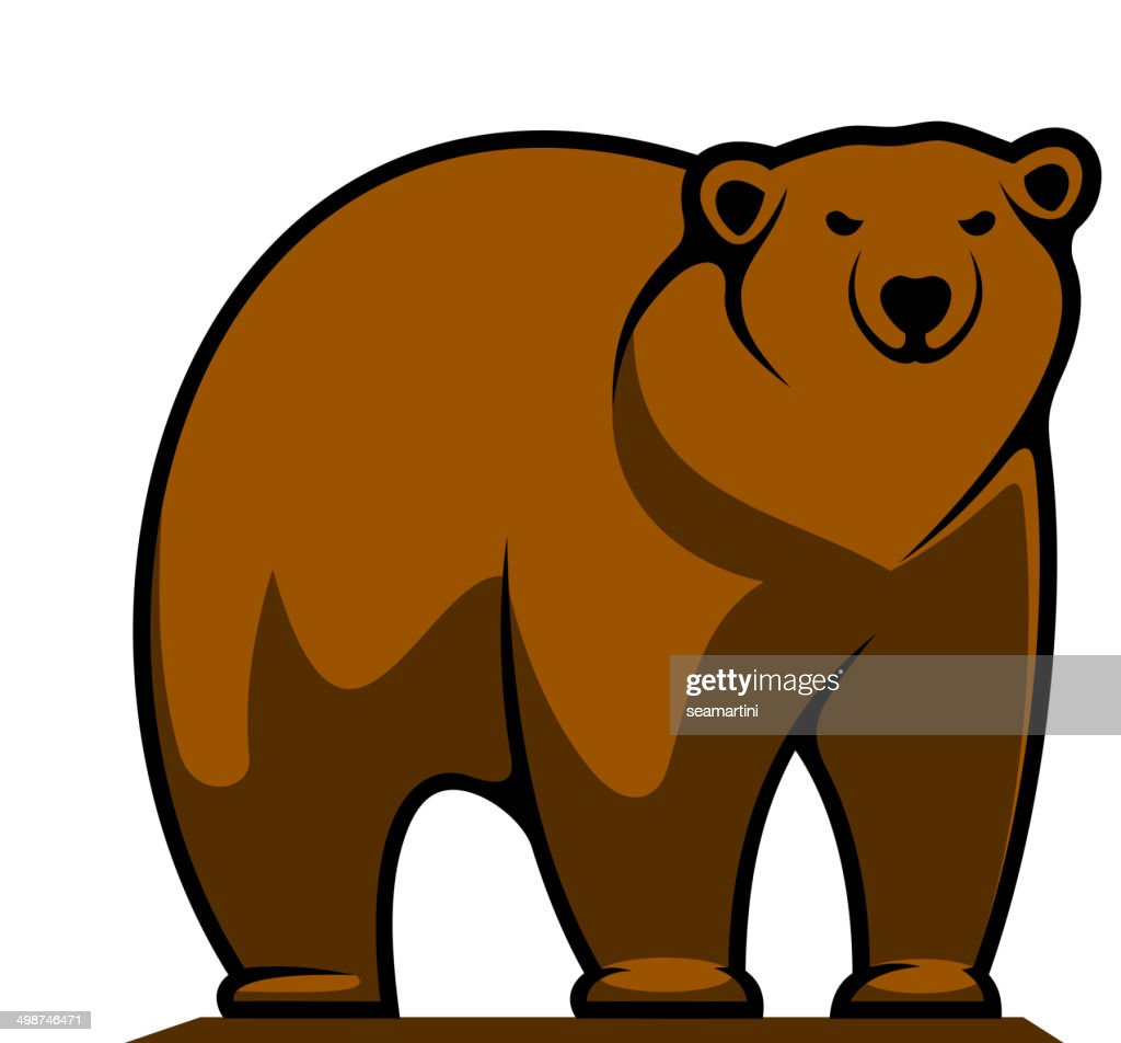 Big brown grizzly or brown bear