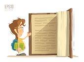 Big child kids book
