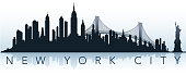 big city silhouette