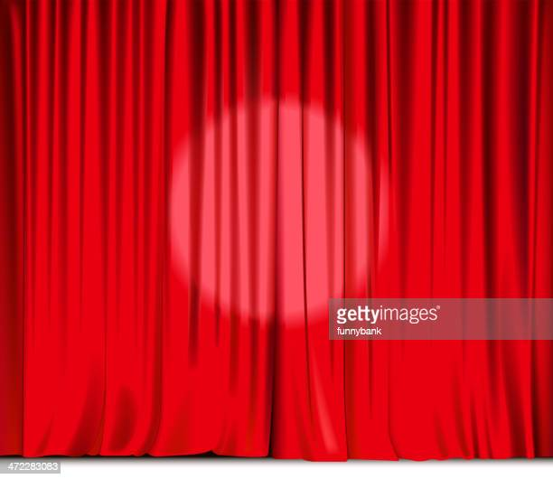 big curtain - closing stock illustrations, clip art, cartoons, & icons