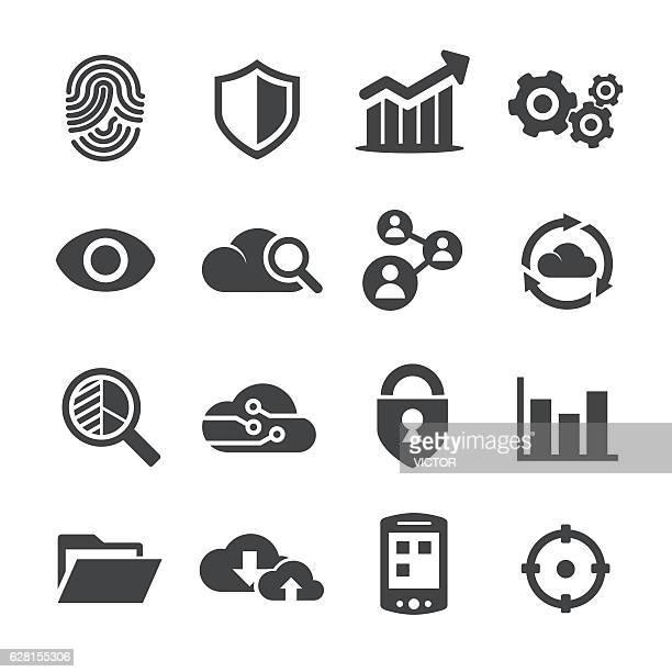 Big Data Icons - Acme Series