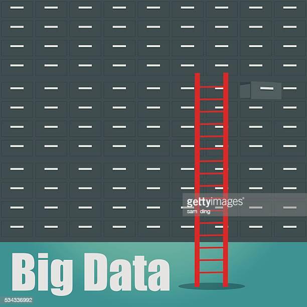 big data, organization, file, document, ring binder, - filing documents stock illustrations, clip art, cartoons, & icons