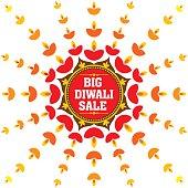 big diwali festival sale banner
