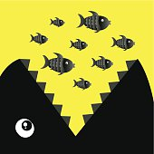 Big fish eat small fishes