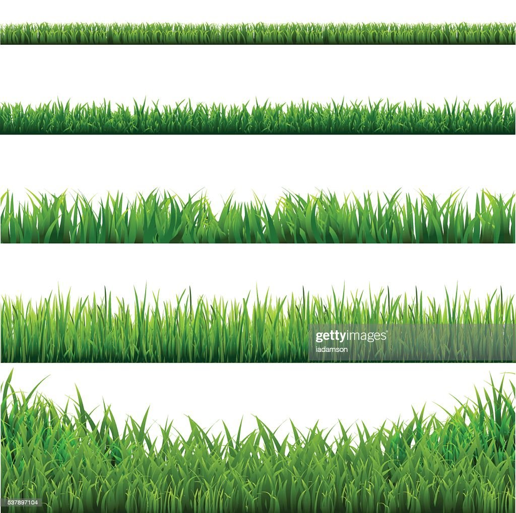 Big Grass Borders Set