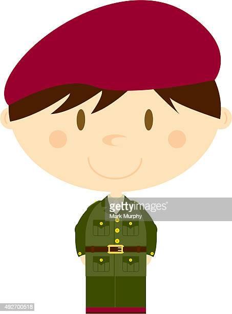 Grosse Tête soldat de l'armée britannique