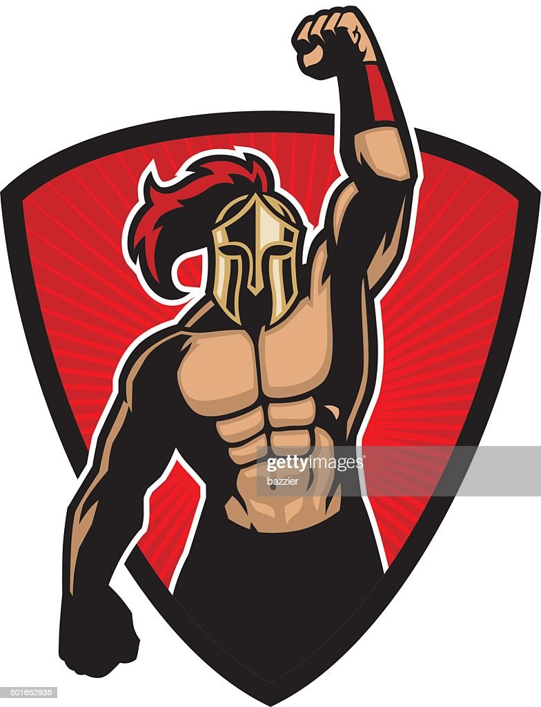big muscle warrior
