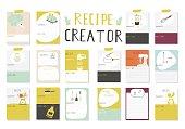 Big Recipe Creator. A lot of template for cookbook. Menu Creator for restorants.