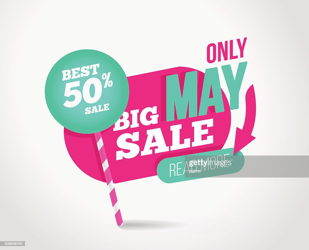 Big sale promotion banner with offer.