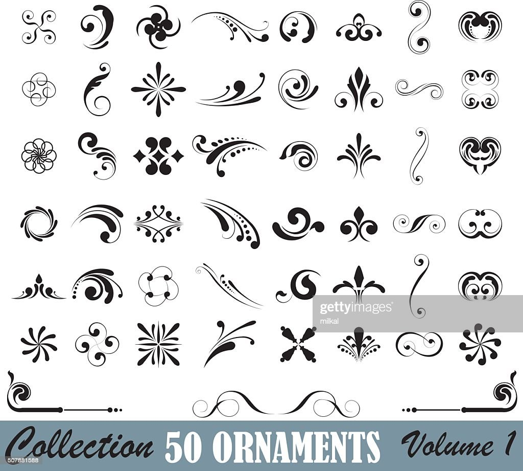 Big set of design elements