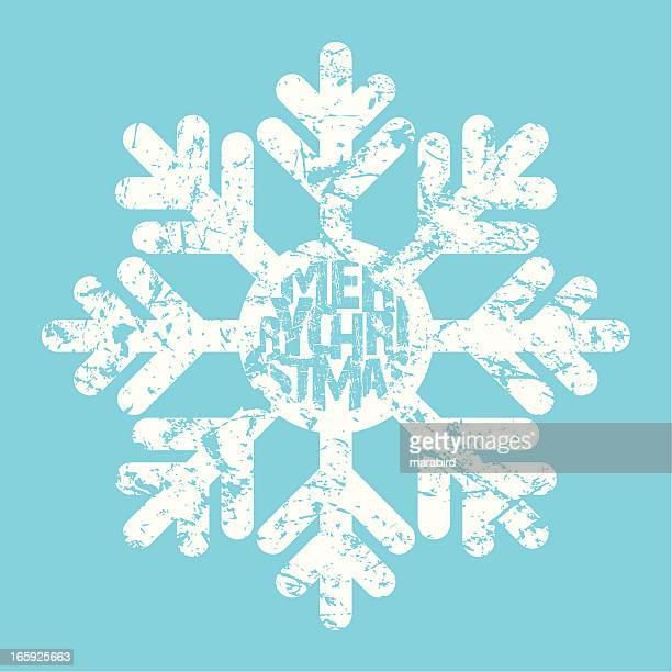 big snowflake message
