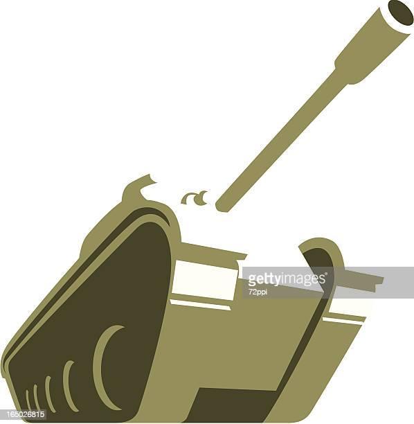 big tank - tank stock illustrations, clip art, cartoons, & icons