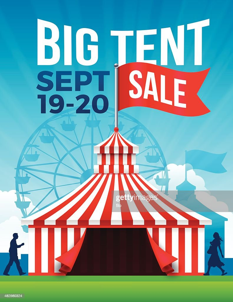 Big Tent Sale  sc 1 st  Getty Images & Entertainment Tent Stock Illustrations And Cartoons | Getty Images
