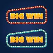 Big Win banner.