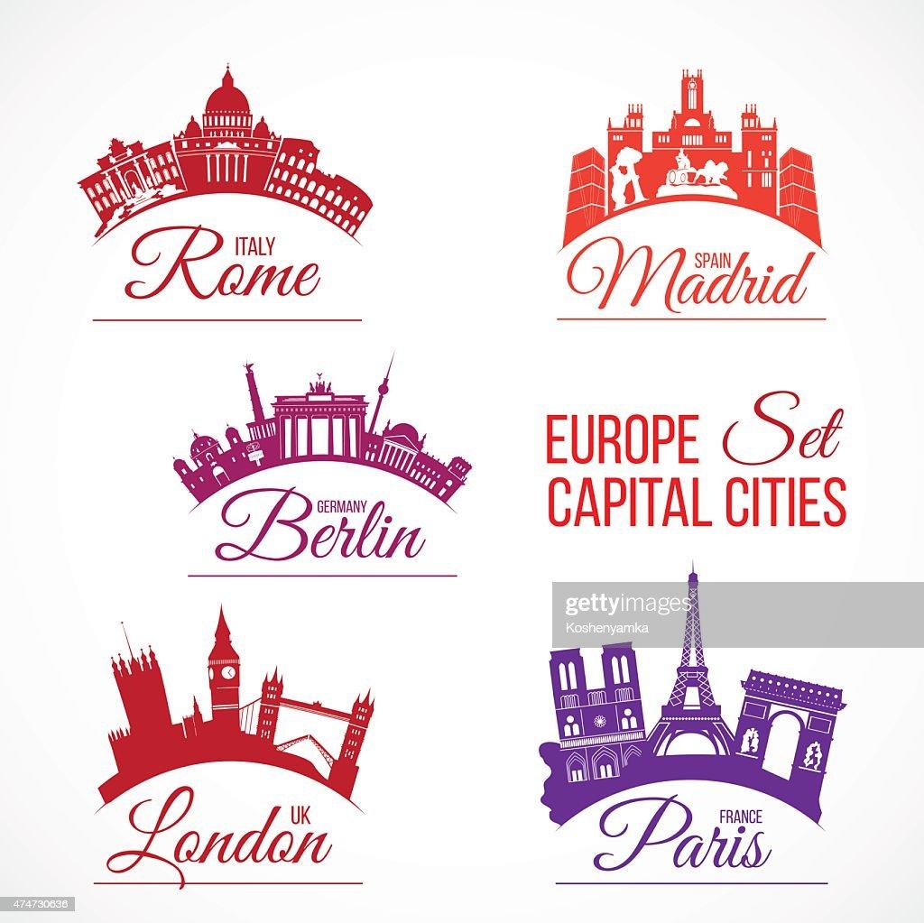 Biggest Europe capital cities