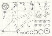 Bike Equipments Blueprints