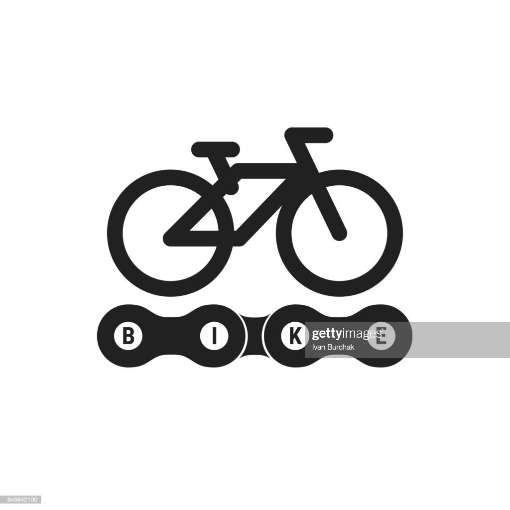Bike or Bicycle Club Vector Emblem