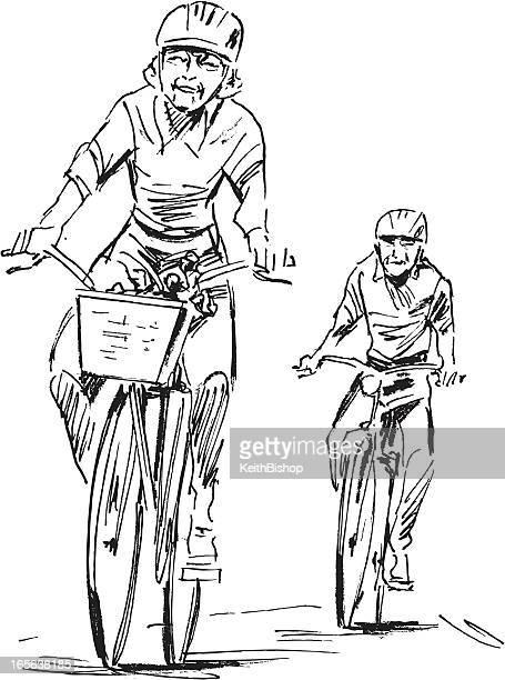 Bike Ride - Senior Couple