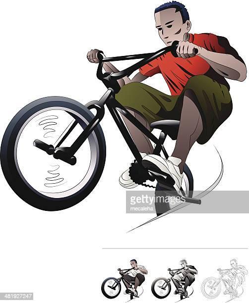 BMX Bike RIder.