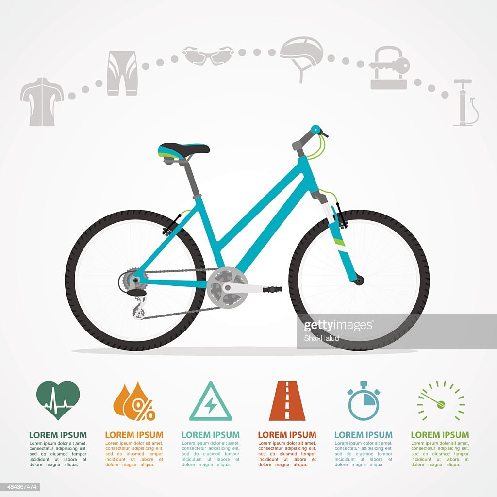 bike riding infographic