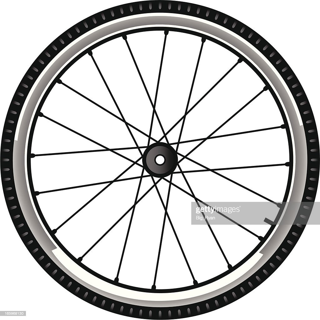 bike tire : stock illustration