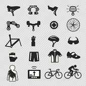 Bike tools and equipment part icon