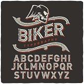 Biker Font