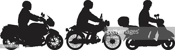bikers - motorcycle helmet isolated stock illustrations, clip art, cartoons, & icons