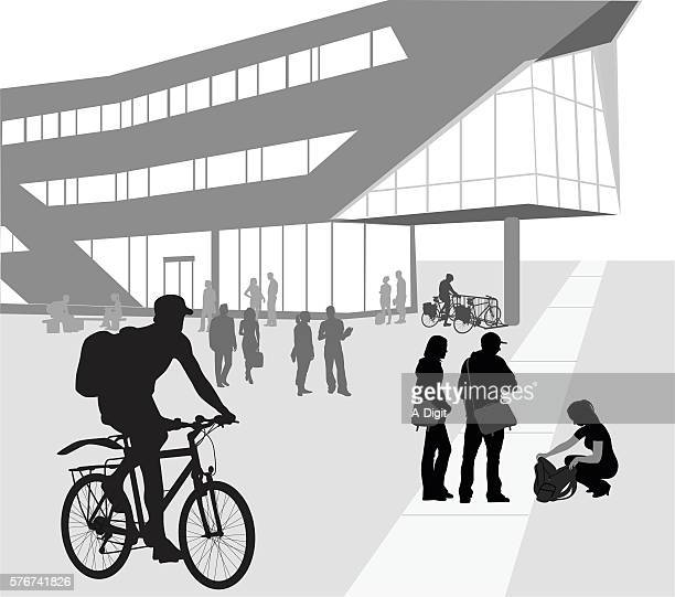 Biking To University