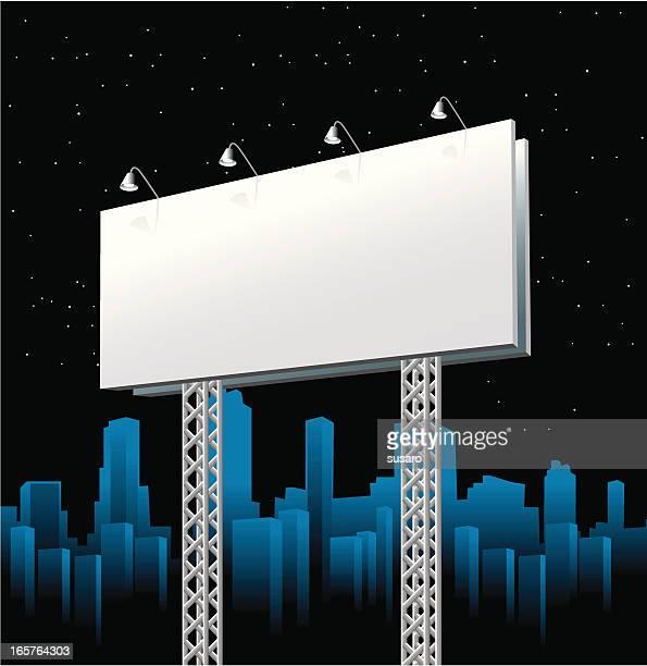 Billboard at Night