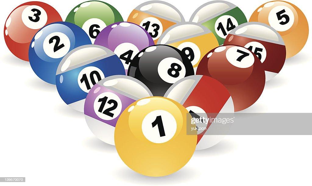 billiard Pool Balls