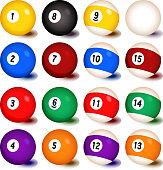 Billiards Balls Collection