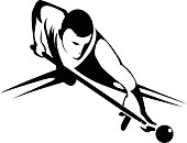Billiards player.