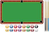Billiards, Pool Balls, Pool Game Set