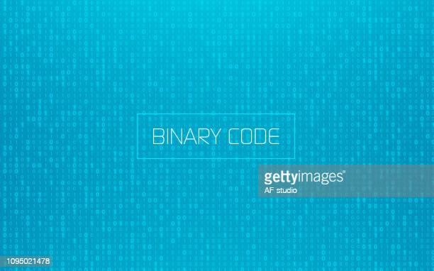 binary background - binary code stock illustrations