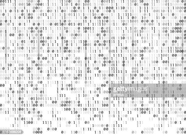 binary codes background - data stock illustrations